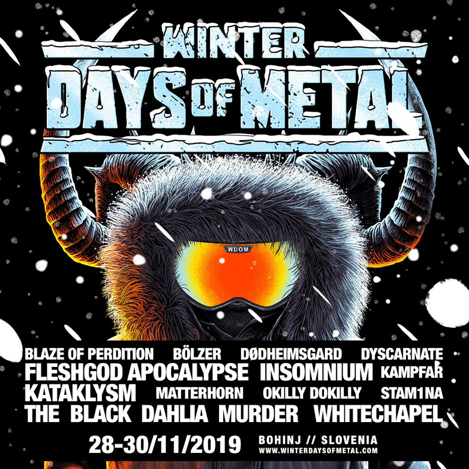 Winter Days of Metal – desno