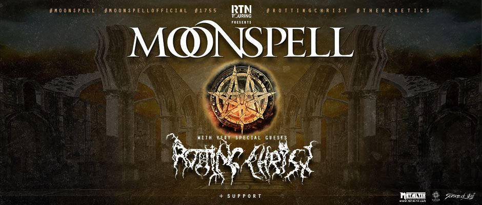 Rotting Christ Moonspell tour